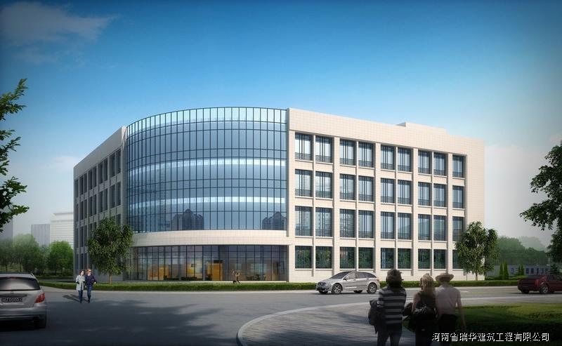 郑州航天公司二期生产楼